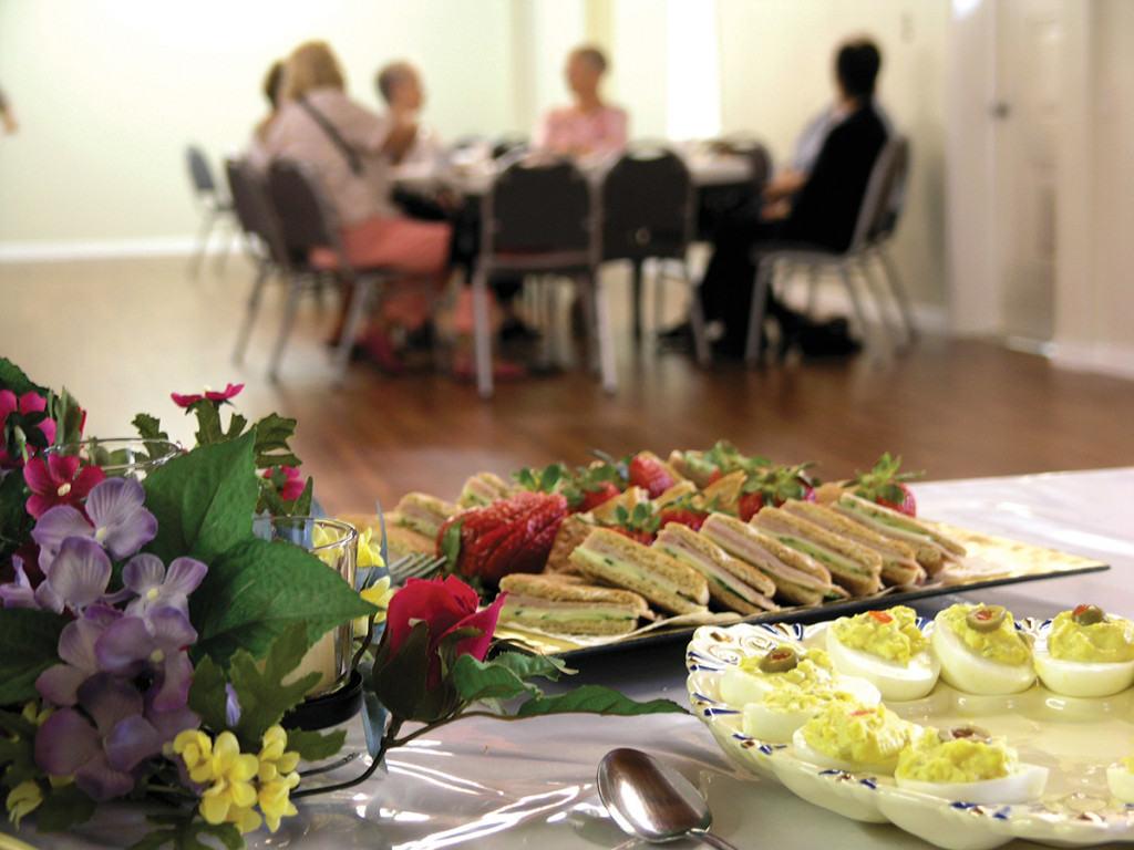 Beachside Baptist Church Seniors Fellowship Meal