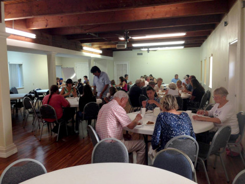 Beachside Baptist Fellowship DInner