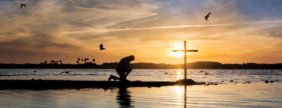 Beachside Prayer by Cross
