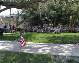 Outdoor Memorial Day Church Service