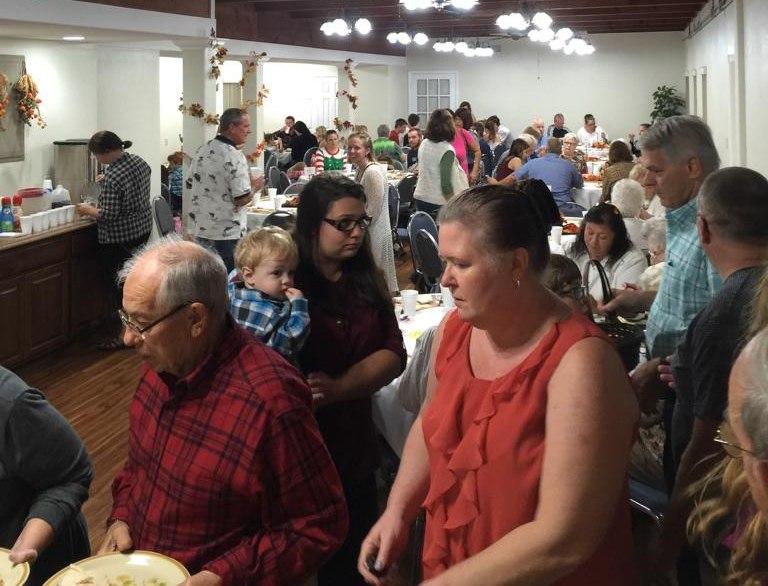 Thanksgiving Meal at Beachside Baptist Church