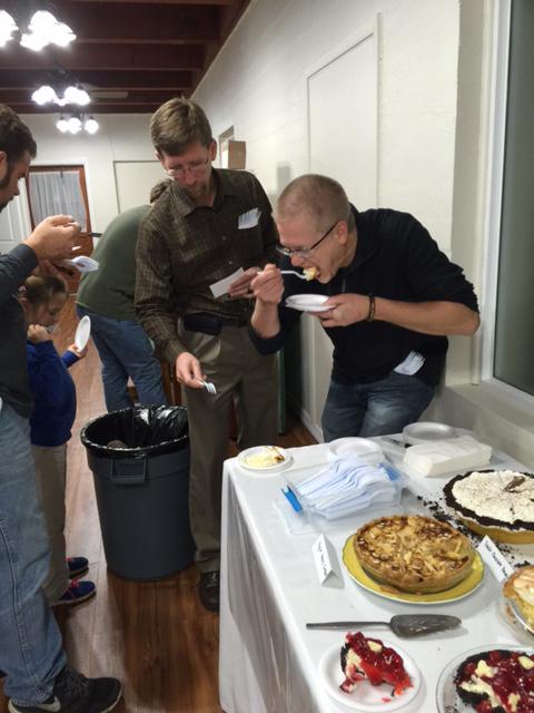 pie contest judges