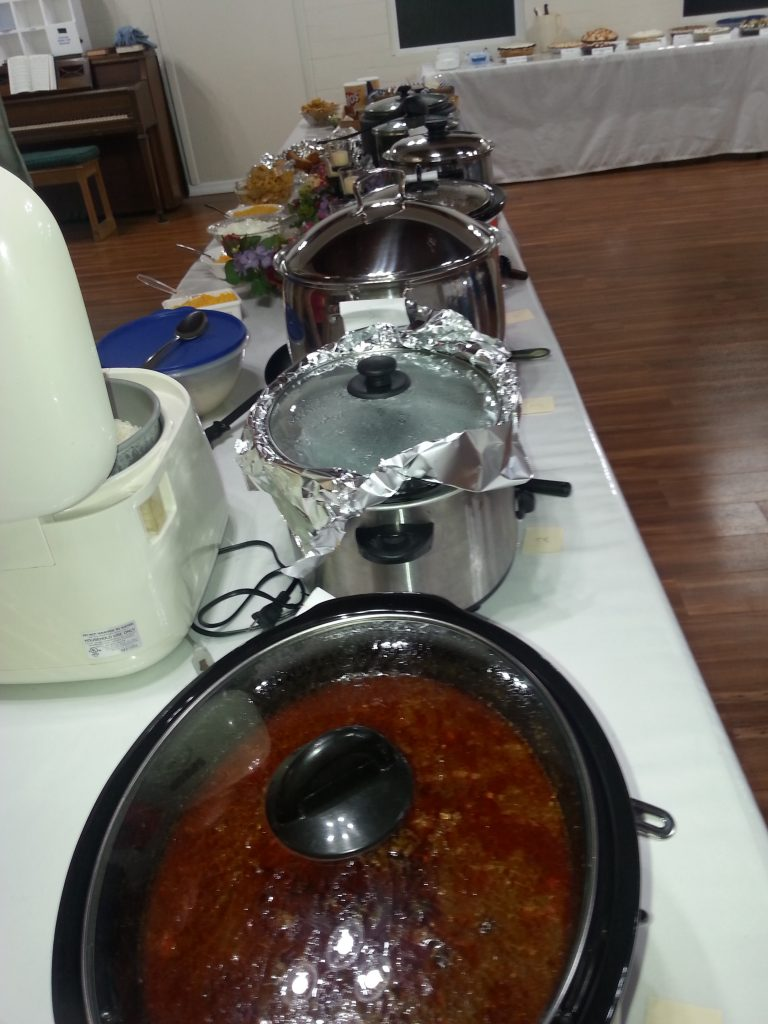 Chili ready for judging