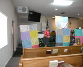 Quilts made in Sunday School