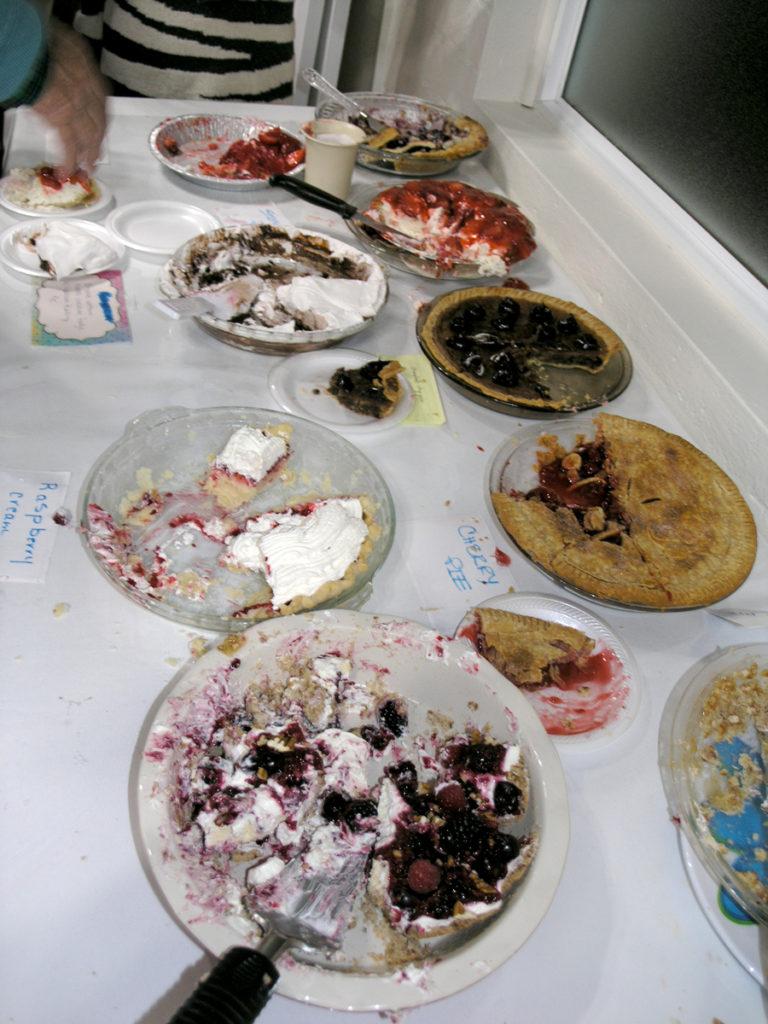 Pie Aftermath