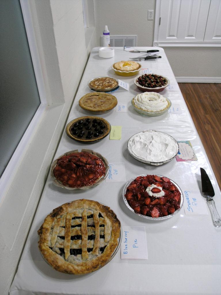 Pie Entries