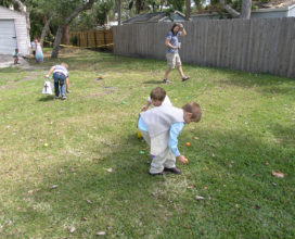 Boys Egg Hunt