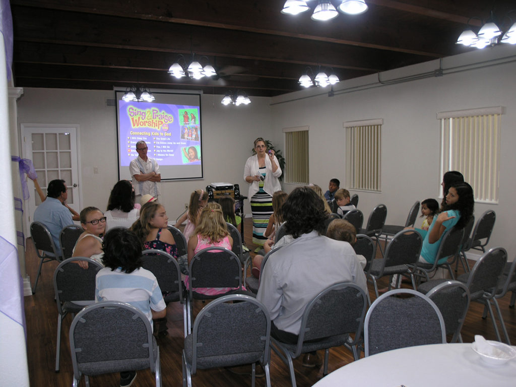Resurrection lesson in Children's Church