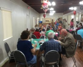 Churches in NSB fellowship meal