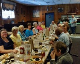 Senior Fellowship at Blackbeard's Restaurant