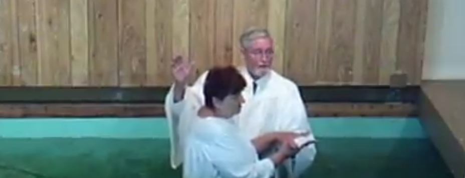 Terry's Baptism