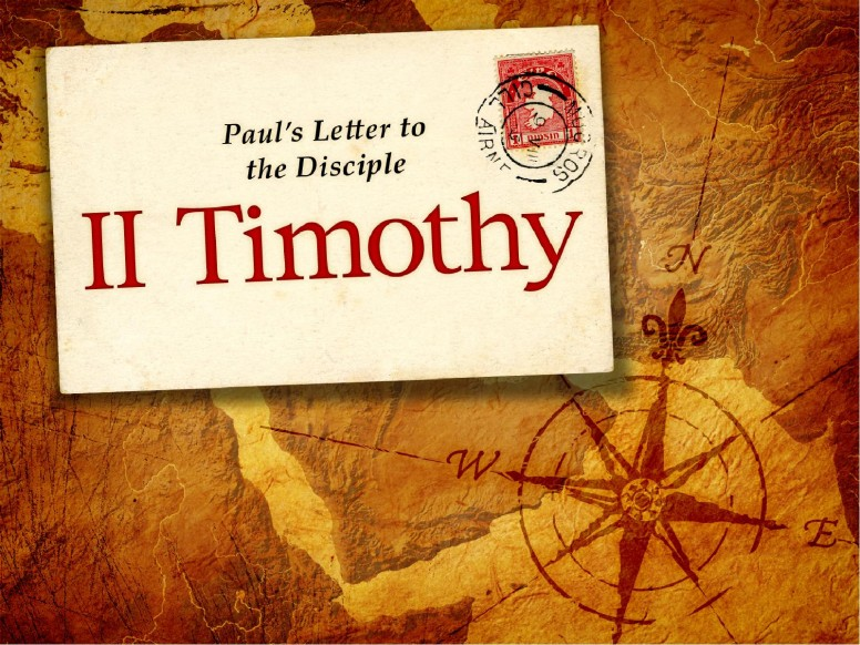 A Letter to Timothy for Us Today