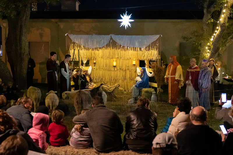 Living Nativity New Smyrna Beach church
