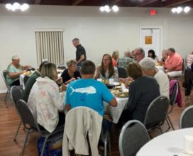 Thanksgiving Fellowship Meal at New Smyrna Beach Church