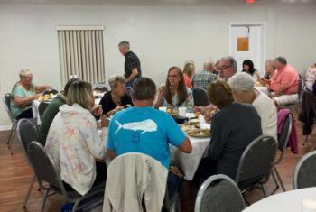 Thanksgiving Fellowship Meal at New Smyrna Beach Church