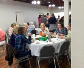 Giving thanks at New Smyrna Beach church meal