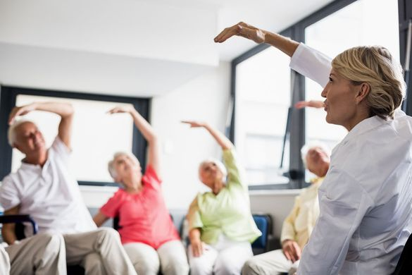 Seniors' Exercise Class