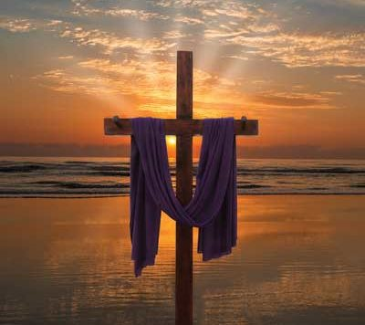 Easter Sunrise Service at the beach in New Smyrna Beach